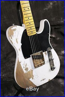 Starshine SR-MRL-003C Handmade Relic Electric Guitar ASH Body Brass Saddles