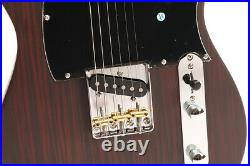 TL Electric Guitar Rosewood Veneer Alnico Pickup Brass Saddles Strings Thru Body