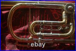 TROMPETE Meister E Todt Erlbach German Master Trumpet Trigger NICE WARM SOUND
