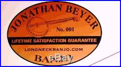 Taking orders Tubaphone long neck five string Vega Style Brass Brackets