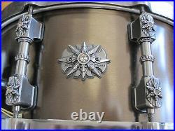 Tama Praetorian Warlord Bell Brass Snare Drum Cast Bronze 6x14 Star Cast Hoops