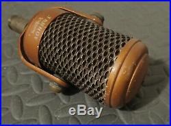 Tannoy 442 Ribbon Vintage Microphone BRASS London Studio Recording Equipment
