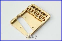 Telecaster brass bridge 4 holes