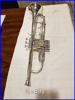 Trumpet King Silver Flair 1055T (Professional Model)
