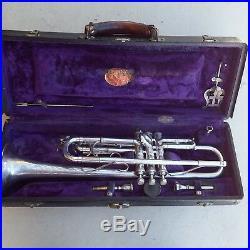 Trumpet king silvertone