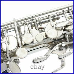 USA Brass Alto Saxophone Sax Eb E-Flat Wind Instrument with Case Gloves Straps