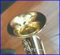 Unique 1964 Fullerton Made Olds Mendez Professional Trumpet w Original Case