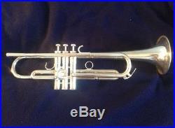 Used Schilke Professional Lightweight Trumpet model B7 s/n 58795 (mid-2000s)