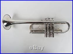 Van Cleave MVC 1 C Trumpet Silver Plate vancleave 0188