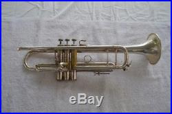 Vincent Bach Model 37 Stradivarius Trumpet 1977 Model 1st Slide Trigger