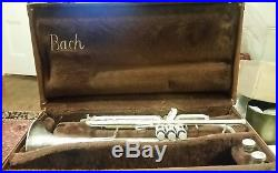 Vincent Bach Stradivarius, Elkhart Model 37, Trumpet