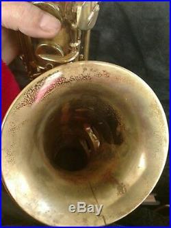 Vintage 1949 Conn 6m Naked Lady Alto Saxophone