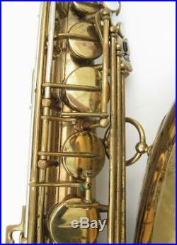 Vintage 1952 Selmer Super Balanced Action Tenor Saxophone