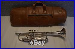 Vintage 1959 Benge C Trumpet Burbank, California 0.460 Bore 4.5 Bell