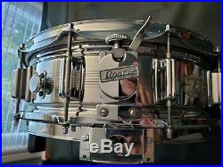 Vintage 1965 Rogers Dynasonic 5 x 14 Snare Drum in AMAZING condition