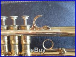 Vintage 1970 Selmer Paris 24B K-Modified Bb Trumpet With Case VERY NICE 24 B