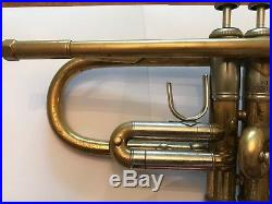 Vintage 1971 Bach Stradivarius 37 ML Bb Trumpet Beautiful Patina