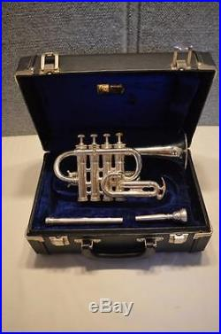 Vintage 1979 Benge Custom Built 4 Valve Piccolo Trumpet #5 Resno Tempered Bell