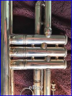 Vintage Bach Stradivarius Trumpet Bb 37 bell 1964 Mt. Vernon