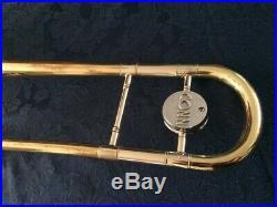 Vintage Conn 6h Artist Professional Trombone Elkhart 1964