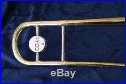 Vintage Conn 6h Artist Symphony Professional Trombone Elkhart 1964