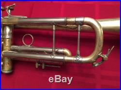 Vintage Early 1968 Bach Stradivarius 37 Professional Trumpet