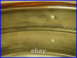 Vintage Ludwig 15 x 5 1930's Snare Drum, calfskin, gut snares