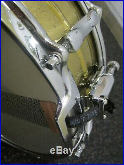 Vintage Premier Snare / Brass / 14 x 5 / Diecast Rims