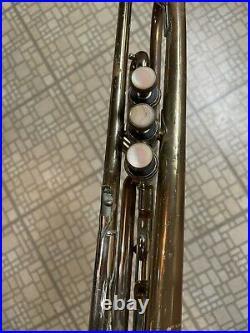 Vintage Vincent Bach Stradivarius Trumpet New York 67 Works Great. No Case