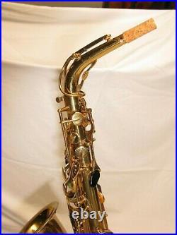 Vito Model 35 Leblanc System Alto Saxophone