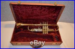 Vtg. 1963 Martin Committee (rmc) Trumpet Medium Bore 1st Valve Adj. Trigger