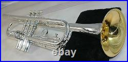 Will Silver Plate Bach ALL Trumpet or Cornet CONN, BACH, BENGE, KING ANY BRAND