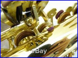 YAMAHA YAS-62 Alto Saxophone With hard case Used MADE IN JAPAN