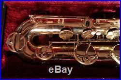 YAMAHA YBS-52 LOW-A BARITONE SAXOPHONE NEW NECK Ready 2 Play wCase
