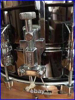 Yamaha Manu Katche 14x 6.5 Snare Black Nickel Over Brass