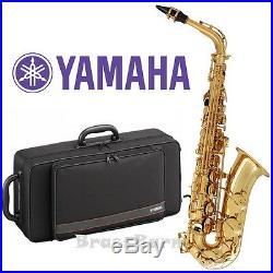 Yamaha YAS-280 Alto Saxophone (Step up from YAS-26) BrassBarn