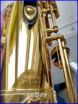 Yamaha YTS62 purple logo tenor saxophone