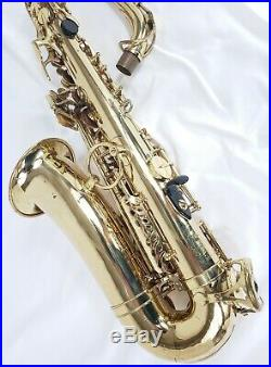 Yanagisawa 800 Vito VSP Pro Alto Saxophone Plays Well