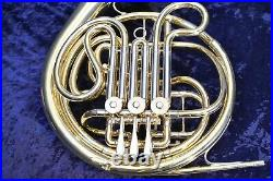 York Master Schmidt Model (made by Bohm Meinl) Double French Horn withCase, Mpc